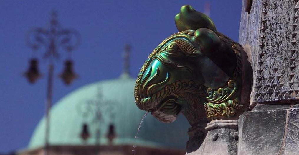 Zsolnay fontein in Pecs